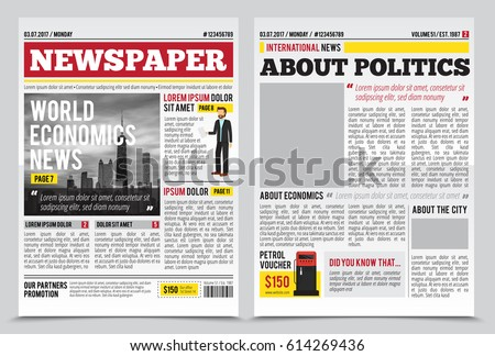 Newspaper Stock Images, Royalty-Free Images & Vectors | Shutterstock