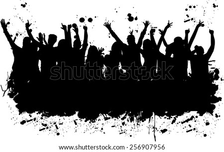 Party Silhouette Stock Images Royalty Free Images