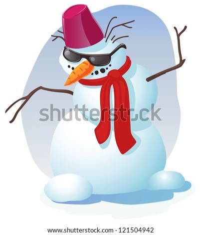 Dancing Snowman Fotografie, snímky pro členy zdarma a vektory ...
