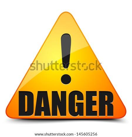 Danger! - stock vector