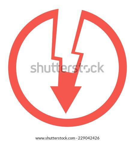 Danger High Voltage.Vector illustration - stock vector