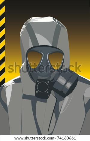 Danger of infection. Vector - stock vector