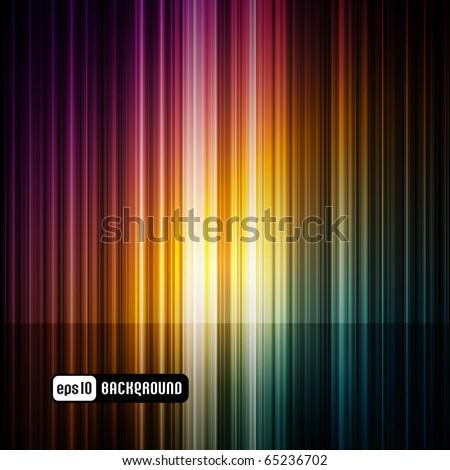 dark abstract spectrum background - stock vector
