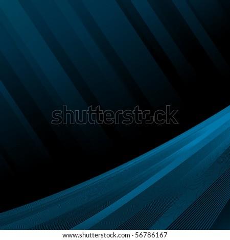 Dark abstract vector background - stock vector
