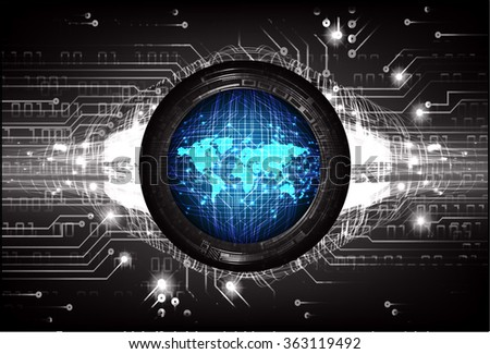Dark blue black light abstract technology stock vector 363119492 dark blue black light abstract technology background for computer graphic website internet and business circuit gumiabroncs Image collections