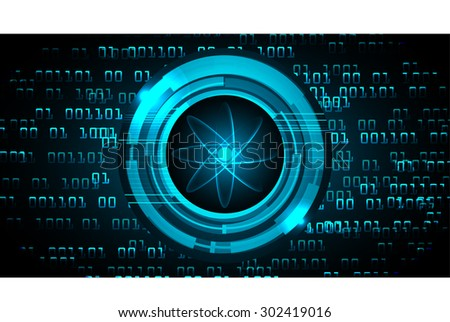 dark blue color Light Abstract Technology background for computer graphic website internet and business. circuit. vector illustration. abstract digital . silver. infographics. atom