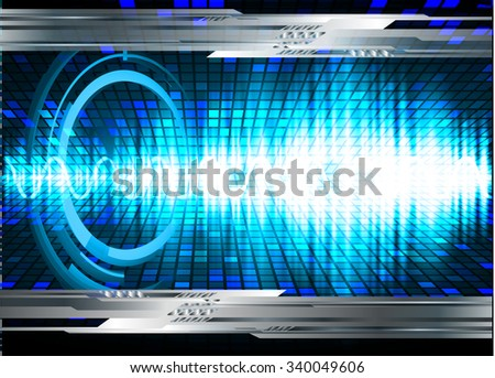 dark blue color Light Abstract Technology background for computer graphic website internet and business.