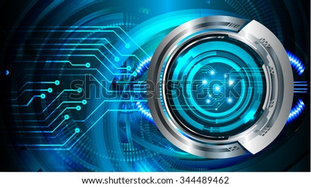 dark blue color Light Abstract Technology background for computer graphic website internet and business. circuit. illustration. digital. infographics. motion. code background. www. vector. Spark eye - stock vector