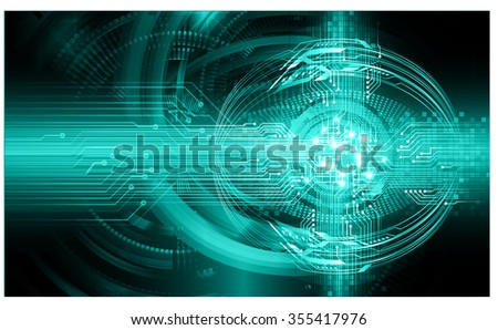 dark blue color Light Abstract Technology background for computer graphic website internet and business.  - stock vector
