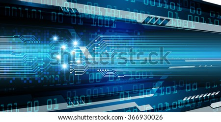 dark blue color Light Abstract Technology background for computer graphic website internet and business. circuit. illustration.digital.infographics. binary code. www.vector.motion. eye scan virus
