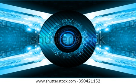 dark blue Light Abstract Technology background for computer graphic website internet business. circuit. vector illustration. abstract. infographics. motion move blur.neon. pixel. scan virus eye