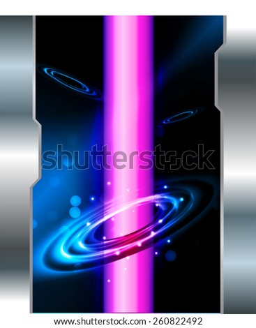 Dark blue pink color Light Abstract Technology background for computer graphic website internet. space, universe, cosmos, stars. silver