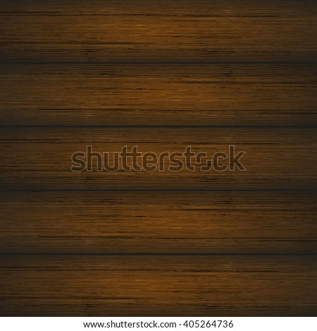 Dark brown wooden planks texture. Vector illustration for your design