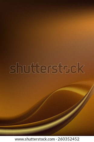 Dark chocolate brown background with soft delicate folds