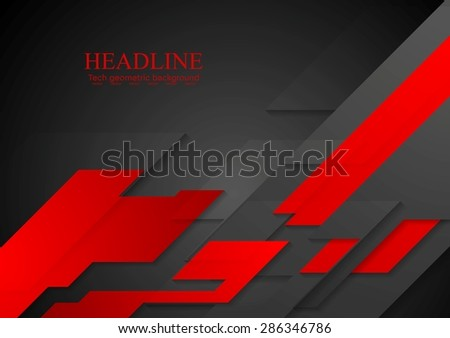 Dark concept modern background. Vector corporate tech design