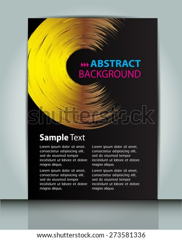 dark god black color Light Abstract Technology background computer graphic website internet and business. circuit. vector illustration. text box. Brochure. card. banner flyer magazine. Design label.