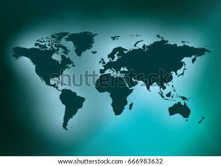 Stock images royalty free images vectors shutterstock dark green background with map of the world vector eps in cmyk gumiabroncs Choice Image