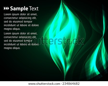 Dark green Light Abstract Technology background for computer graphic website internet and business.