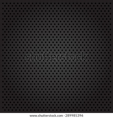 Dark metal cell background - stock vector