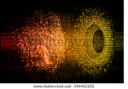 dark orange color Light Abstract Technology background for computer graphic website internet and business. circuit. illustration. digital. infographics. binary code background. - stock vector