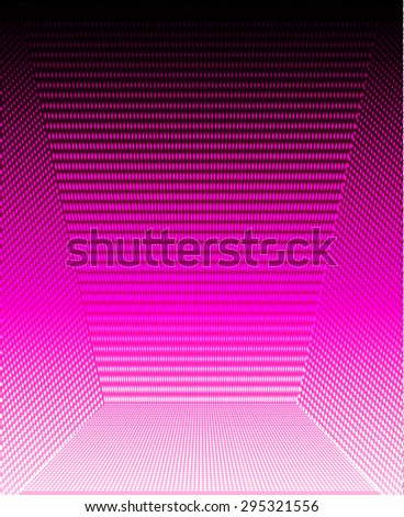 Dark pink Abstract light lamps background for Technology computer graphic website internet and business.. Screen on stage. Vector illustration. Spot Effect. neon. point. dot - stock vector