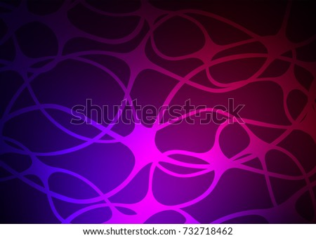 Dark Purple vector doodle blurred pattern. Glitter abstract illustration with doodles and Zen tangles. The doodle design can be used for your web site.
