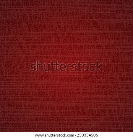 Dark red cloth texture background. Vector illustration - stock vector