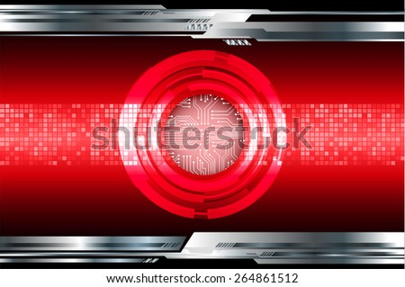 dark red color Light Abstract Technology background for computer graphic website internet and business. circuit. silver background. Pixel, mosaic, table - stock vector