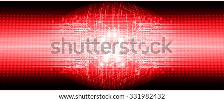 dark red color Light Abstract Technology background for computer graphic website internet and business. circuit. vector illustration. abstract. infographics. motion move blur.neon, Global - stock vector