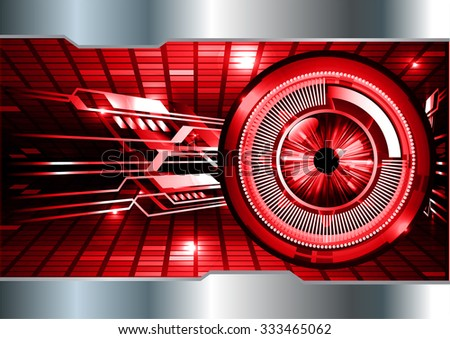 Dark red illustration of technology internet network computer background with binary number, style background. infographics. Information. motion blur. pixel. Binary digit. number. vector. eye - stock vector