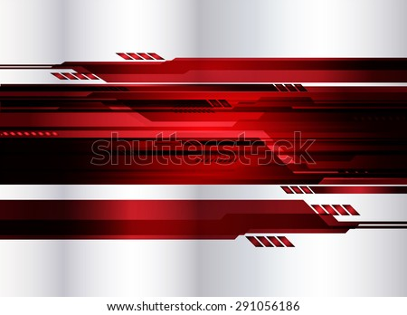 Dark red Light Abstract Technology background for computer graphic website internet. silver. infographics. move motion