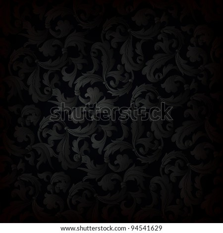 Dark retro wallpaper background - stock vector