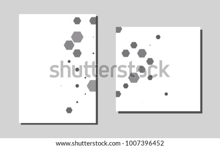 Dark silver grayvector cover envelopes beautiful stock vector dark silver grayvector cover for envelopes beautiful colored sample in a4 size pattern reheart Image collections