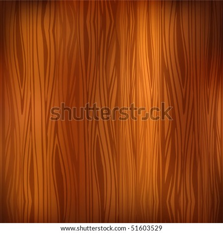 Dark wood texture background - stock vector