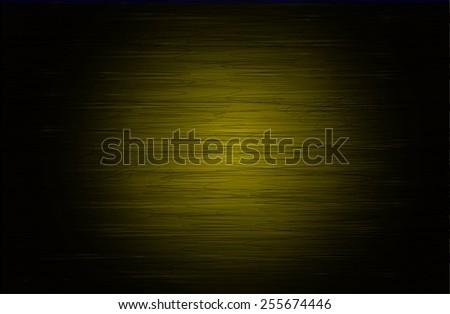 Dark yellow grunge retro vintage texture, old background. wall. - stock vector