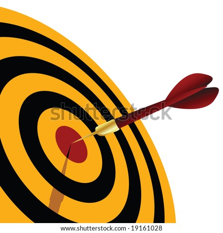 dart - stock vector