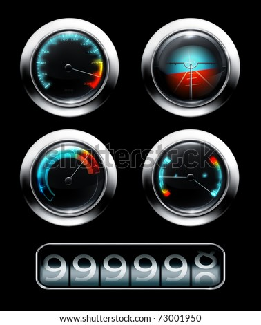 Dashboard, 10eps - stock vector