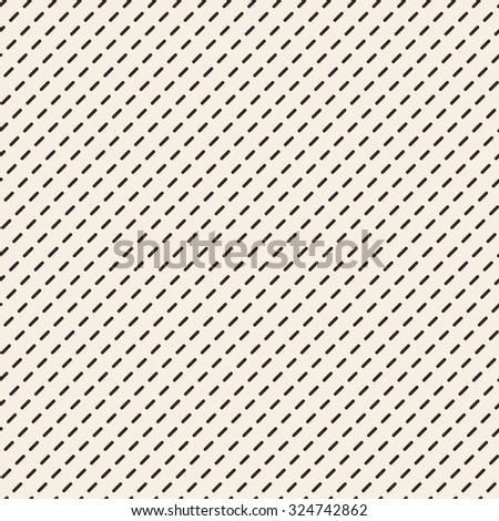Dashed lines texture. Stripped geometric seamless pattern. Modern repeating stylish texture. Flat minimalistic texture on beige background. Vector - stock vector