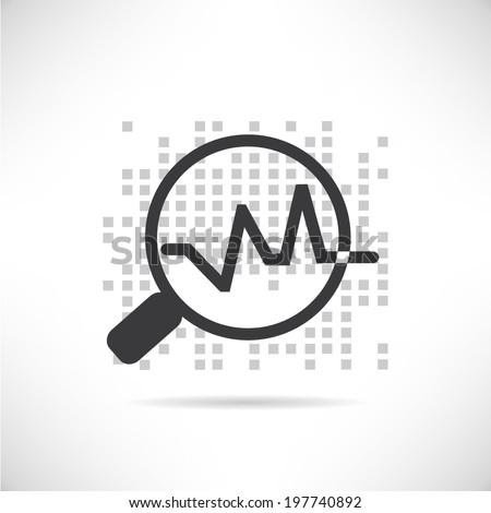 data analytics - stock vector