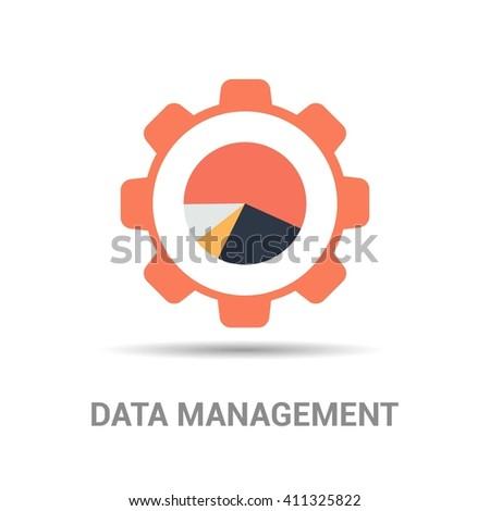 Data Managment - stock vector