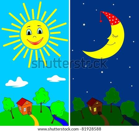 a comparison of daytime activities versus nighttime activities in school