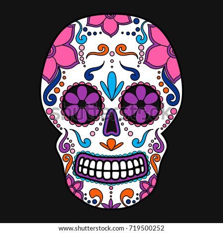 sugar skull stock images royaltyfree images amp vectors