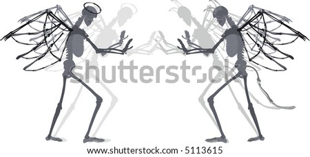 Day of the Dead illustration. - stock vector