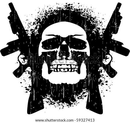 death trap - stock vector