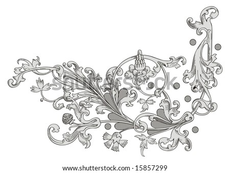 decoration vector - stock vector