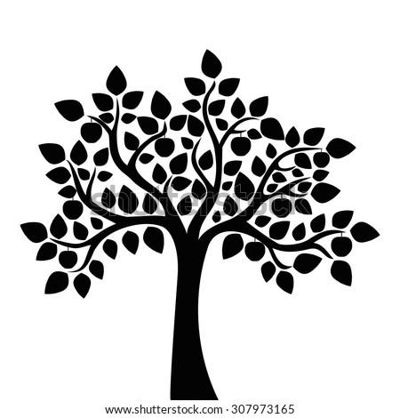 decorative apple tree