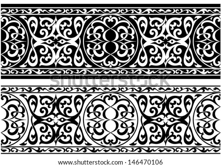 Decorative arabian or persian ornament in medieval style. Jpeg version also available in gallery - stock vector