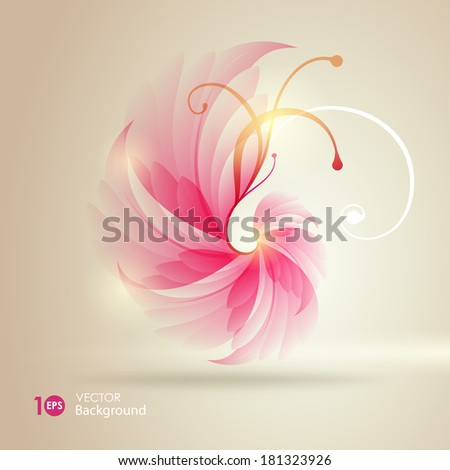 Decorative  background. Vector eps 10. - stock vector