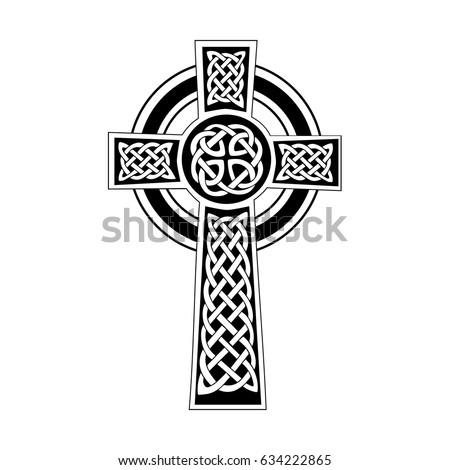 decorative celtic cross stock vector 634222865 shutterstock rh shutterstock com celtic cross vector celtic cross vector art free