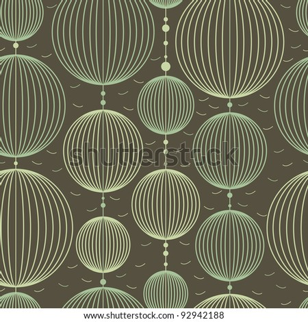 Decorative elements - seamless pattern - stock vector